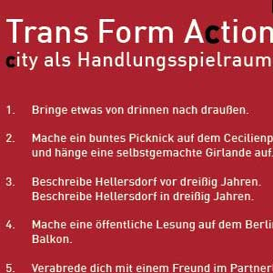 Trans Form Action